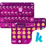 Butterfly Emoji Keyboard Theme