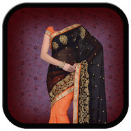 women saree suit photo montage