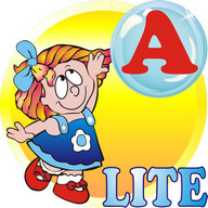 ABC Bubbles - English. Lite