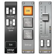 AudioBar Media Volume Widget