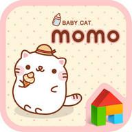 Baby cat MoMo Dodol Theme