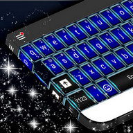 Blue Novelty Keyboard Theme