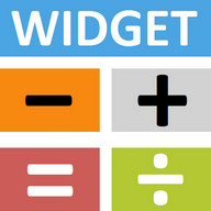 Calculator Widget Multicolor