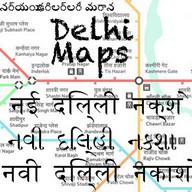 Delhi Bus Tube Maps