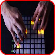 Electro drum pad