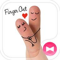 Love Wallpaper-Finger Art-