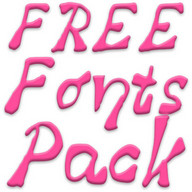 Free Fonts Pack 16