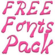 Fonts for FlipFont #16