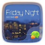 (FREE)GO SMS FRIDAYNIGHT THEME