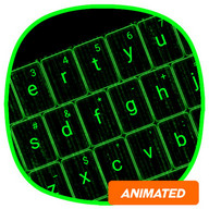 Matrix Animated Keyboard