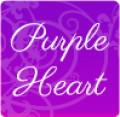 GO Keyboard Purple Heart Theme