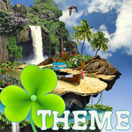 Theme Tropical GO Launcher EX