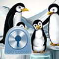 GO Locker Theme penguins - An adorable penguin theme for the GO Locker app