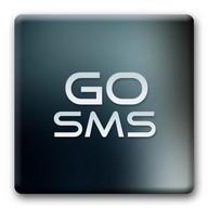 Go SMS Theme Liquid Metal HD