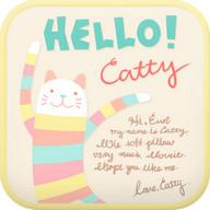 Hello catty go launcher theme