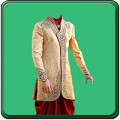 Indian Man Sherwani Photo Suit