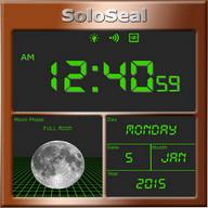 Fase Bulan Alarm Clock