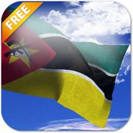 3D Mozambique Flag LWP