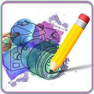 Pencil Camera Sketch