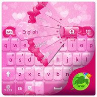 Pink Hearts Keyboard