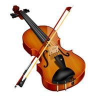 jugar un violín de verdad