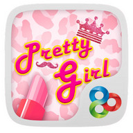 Pretty Girl GO Launcher Theme