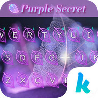 Purple Mystery Emoji Keyboard