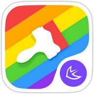 カラフルなテーマ虹
