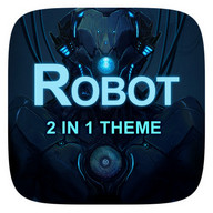(FREE) Robot 2 In 1 Theme