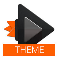Dark Orange Theme