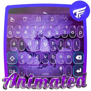 Purple dragon Keyboard Animated