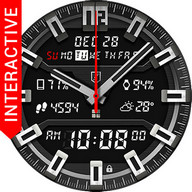 Shield Watch Face