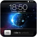 Slide to Unlock - Galaxy Theme