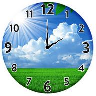 Sunny Spring Clock