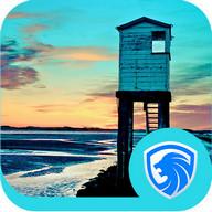 AppLock Theme - Seaside Cabin