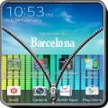 Transparent Zipper Screen Lock