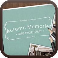 Travel Diary go launcher theme