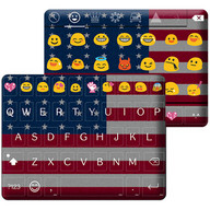USA Independence Day Theme - Emoji Keyboard