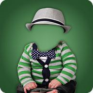 Baby Photo Suit Photo Montage