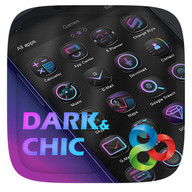Dark Chic GO Launcher Theme