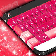 Fancy Pink Theme for Keyboard