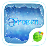 Frozen GO Keyboard Theme