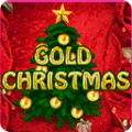 GO Keyboard Gold Christmas Theme