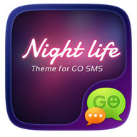 (FREE) GO SMS NIGHT LIFE THEME