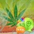 GO SMS Pro Theme Weed Ganja