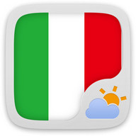 GO Weather EX Italian Language