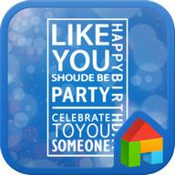 Party dodol launcher theme