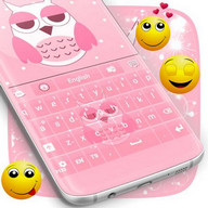 Keyboard Colours Pink