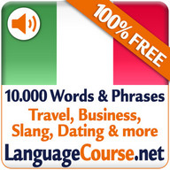 Learn Italian Words Free