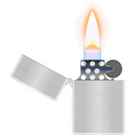Lighter - A virtual lighter whose flame responds to the movements of your device